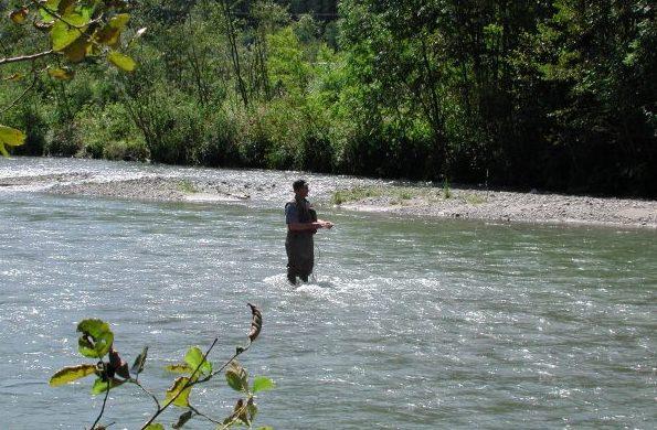 Fischen in Flattach, Fliegenfischen, Angeln
