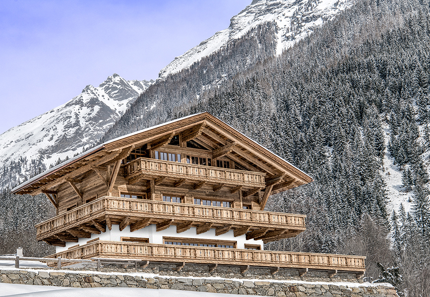 Grand Chalet in Gletschernähe