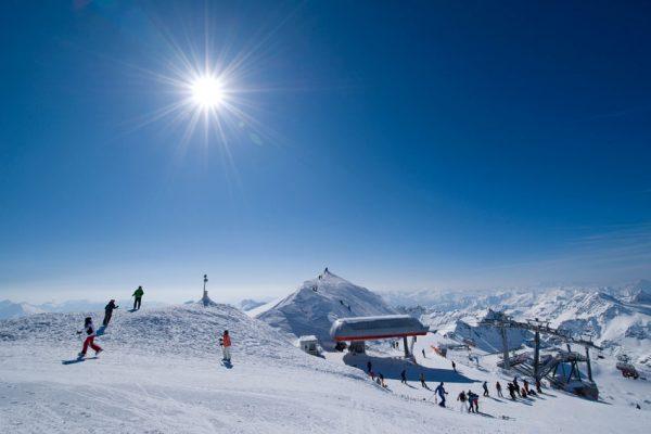 Skigebiet Mölltaler Gletscher, Skifahren am Mölli