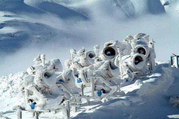 Ganzjährig beschneiter gletscher, Mölltaler Gletscher